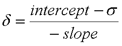 empirical scaling equation